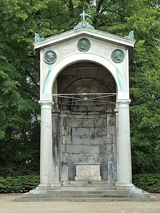 Congress of Aix-la-Chapelle (1818) - Congress memorial in Aachen