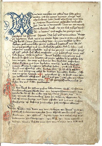 File:Konrad von Grünenberg - Beschreibung der Reise von Konstanz nach Jerusalem - Blatt 1r - 007.jpg