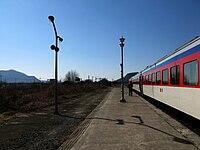 Korail Gyeongjeon Line Nakdonggang Station Platform2.jpg