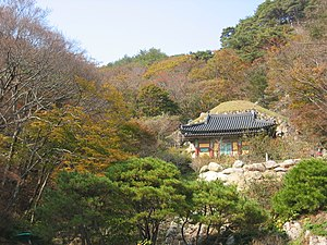 Seokguram Grotto in Gyeongju, South Korea