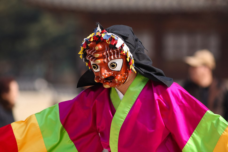Korean dance-Talchum-Mask Dancer