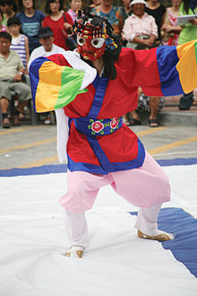 Korean mask dance-Talchum-03.jpg