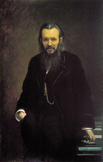 Aleksey Suvorin - Portrait by Ivan Kramskoy, 1881.