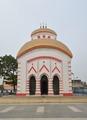 Krishnachandreswar Shiva Mandir - Eastern View - Bhukailash Rajbati Estate - Kidderpore - Kolkata 2015-12-13 8236-8238.tif