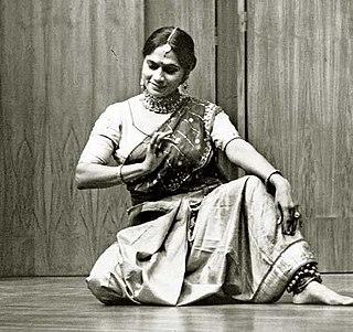 Kumudini Lakhia Indian dancer and choreographer
