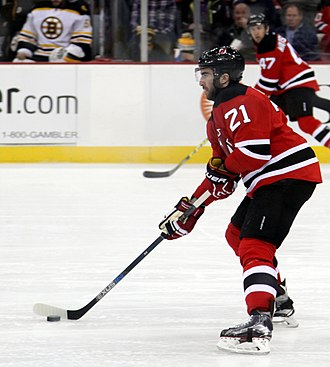 Kyle Palmieri - Palmieri with the Devils in March 2016