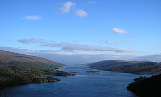 National scenic area (Scotland) - The Kyles of Bute national scenic area in Argyll and Bute.