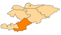 Osh Province in Kyrgyzstan