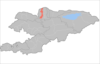 Jayyl District Raion in Chuy Region, Kyrgyzstan