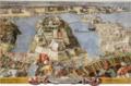 L'assedio e batteria dell'isola, e di S. Michele. 27.06.1565.png