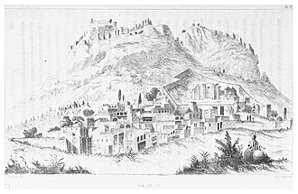 Kozan, Adana - Panorama view of Sis (c.1855)