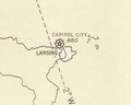 LAN Airport NOAA Sectional Chart 1935.png