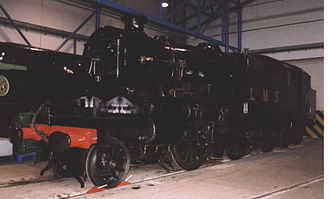 London, Tilbury and Southend Railway - LMS 3-cylinder 2-6-4T No. 2500 built specifically for the LTSR section at the National Railway Museum in York in 2003