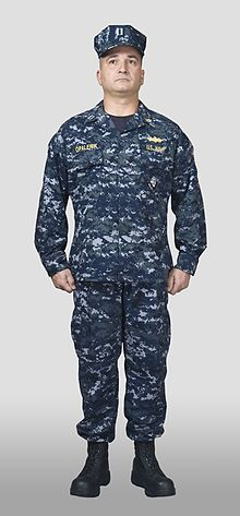 Military Dress Uniform Navy