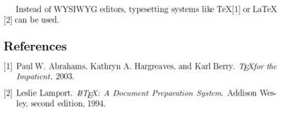 LaTeX/参考文献管理 - 维基教科书,自由的教学读本