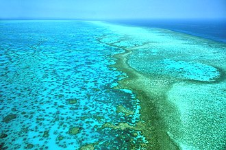 Queensland - Great Barrier Reef, which extends along most of Queensland's coastline