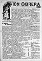 La Unión Obrera, marzo de 1907.jpg
