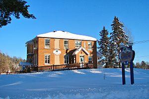 Lac-du-Cerf, Quebec - Municipal Hall of Lac-du-Cerf