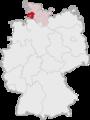 Lage des Kreises Dithmarschen in Deutschland.png