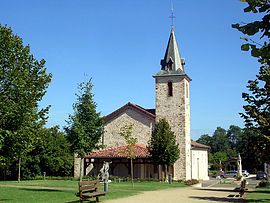The church in Laglorieuse