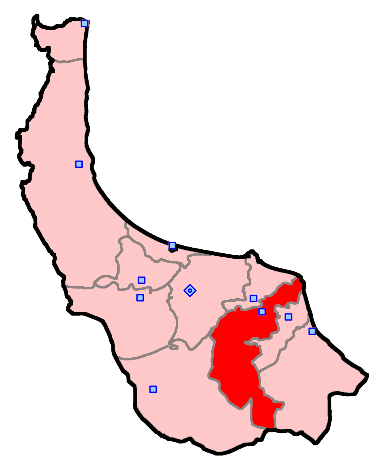 حوزه انتخابیه لاهیجان و سیاهکل
