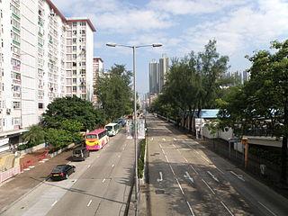 Lai Chi Kok Road Road in Kowloon, Hong Kong