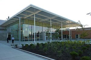 Lake Washington High School - LWHS main entry