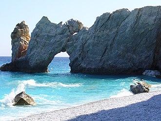 Skiathos (town) - Lalaria beach.