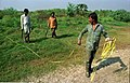 Land Measurement - Science City Site - Dhapa - Calcutta 1993-12-06 140.JPG