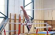 Landessportzentrum Dornbirn Turnhalle Stufenbarren