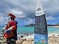 Landing list at Sunset Bar & Grill, Maho Beach, St Maarten Oct 2014 (15546820710).jpg