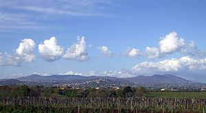Lanuvium - Lanuvium and the Alban Hills