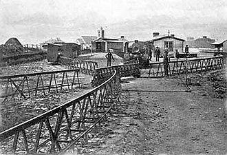 History of rail transport in Ireland - Ballybunion, c. 1902