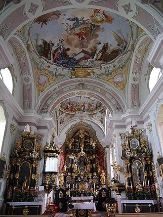 Lavant, Tyrol - Image: Lavant St. Ulrich Innen 5