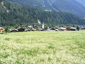 Lax, Switzerland - Image: Lax