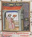 Le Jugement dou Roi de Navarre - Guillaume de Machaut méditant.jpg
