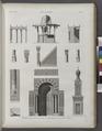 Le Kaire (Cairo). Détails d'architecture de la Mosquée de Soultân Hasan (NYPL b14212718-1268747).tiff