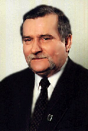 Polish legislative election, 1989 - Image: Lech Wałęsa prezydent RP