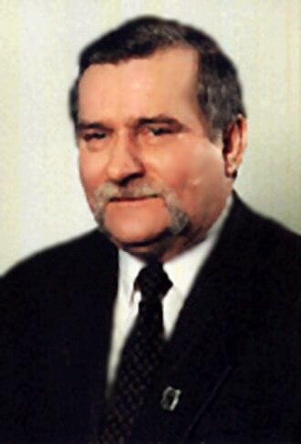 Polish presidential election, 1995 - Image: Lech Wałęsa prezydent RP