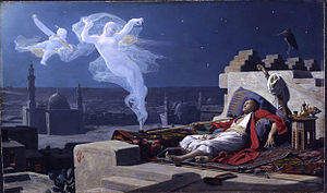 Jean-Jules-Antoine Lecomte du Nouÿ - A Eunuch's Dream, 1874, Cleveland Museum of Art.