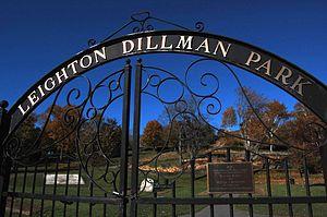 Dartmouth Commons - Image: Leighton Dillman Park Gate