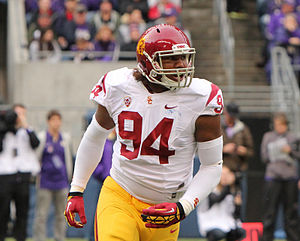 Leonard Williams (American football) - Williams playing for USC in 2012