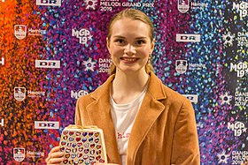 Leonora at the Danish Melodi Grand Prix 2019.jpg