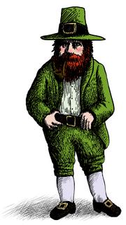 Leprechaun Irish mythological creature