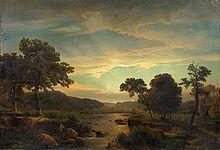 Landschaftsmalerei romantik friedrich  Düsseldorfer Malerschule – Wikipedia