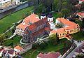 Letecký pohled na areál třebíčského zámku (cropped).jpg