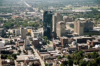 Cityscape of Lexington, Kentucky - Skyline of Lexington