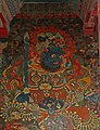 Lhasa-Potala-38-Weltenhueter Sued Virudhaka mit Schwert und Vollbart-2014-gje.jpg