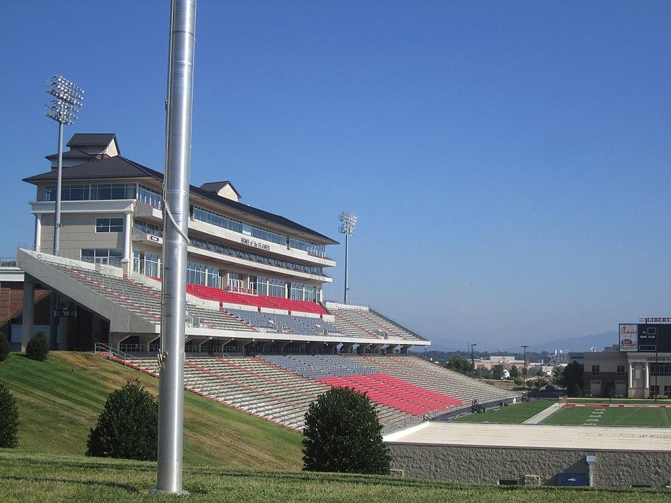 Liberty University Flames stadium, Lynchburg, VA IMG 4118