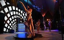 Competizione di Pole dance